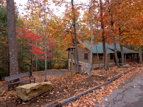Pigeon Forge Pet Friendly Two Bedroom Cabin Rental with Movie Theater