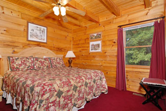 Tennessee Vacation Four Bedroom Cabin Rental