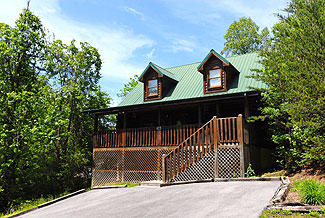 Convenient Vacation Cabin Rental in Pigeon Forge