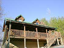 Convenient Four bedroom Pigeon Forge Cabin