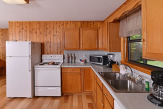 Pigeon Forge Two Bedroom Rustic Cabin Rental