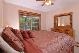 Pigeon Forge Two Bedroom Chalet Rental