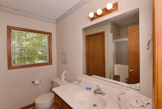 Pigeon Forge Cabin Rental Bathroom