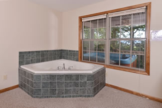Pigeon Forge Cabin Rental Indoor Whirlpool
