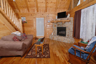 Tennessee Vacation One Bedroom Cabin Rentals