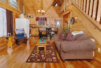 Tennessee Vacation Pet Friendly Cabin Rental