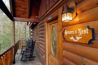 Pigeon Forge Secluded Vacation Log Cabin Rental