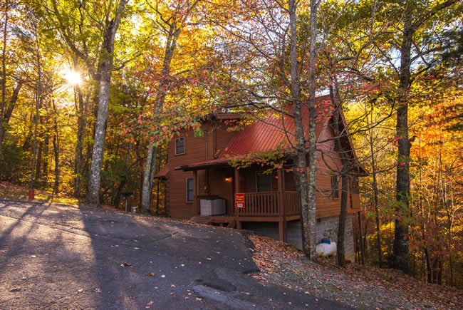 rentals htm view tennessee in cabins for rent deck tn luxury a gatlinburg location cabin