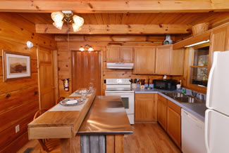 Pigeon Forge Two Bedroom Vacation Cabin Rental