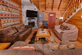 Gatlinburg Two Bedroom Cabin Rental