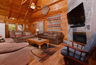 Tennessee Two Bedroom Vacation Cabin Rental
