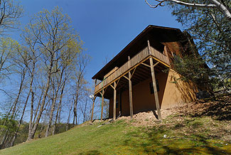 Gatlingburg-Great Smoky Mountain Two Bedroom Tennessee Vacation Cabin Rental