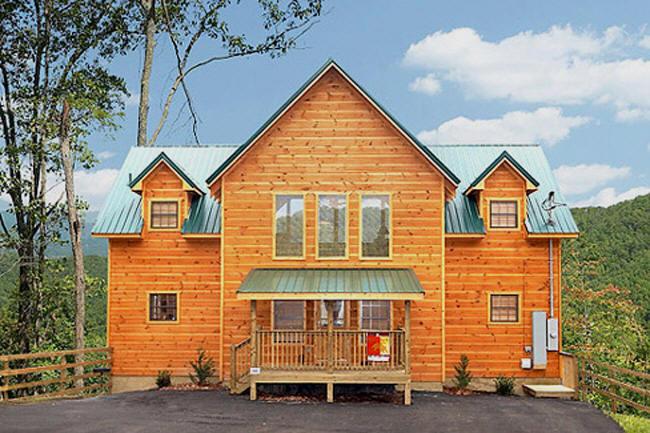 Swell Five Bedroom Gatlinburg Cabin Rentals Smoky Mountains Cabin Interior Design Ideas Clesiryabchikinfo