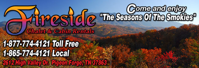 Fireside Chalet And Cabin Rentals Pigeon Forge