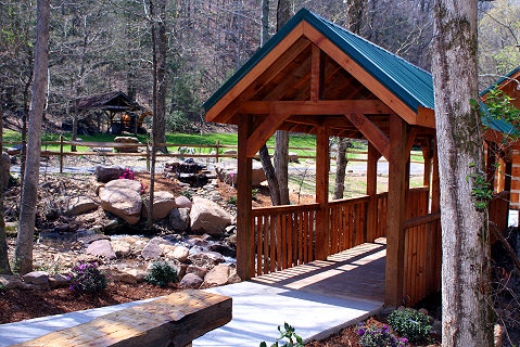 Swimming Pool Access Cabins And Chalets In Pigeon Forge