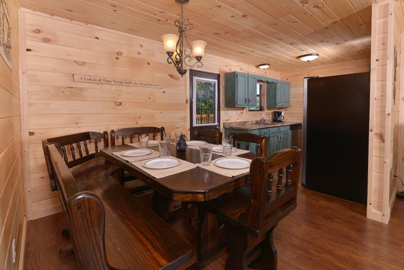 Bear Necessities Three Bedroom Cabin Rental