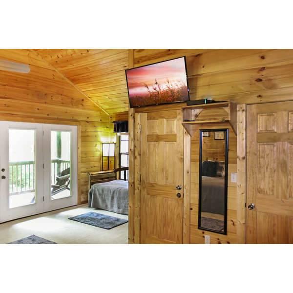 Creekside Hideaway 1 Bedroom Cabin Rental Pine Haven