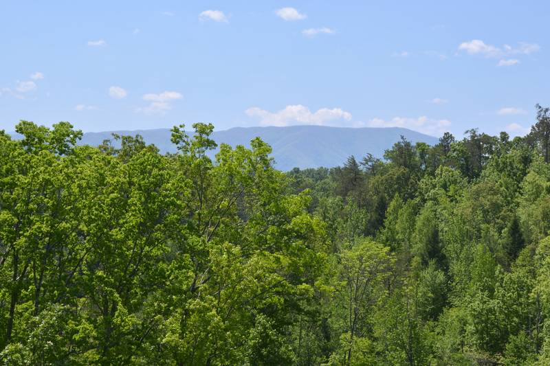 Pigeon Forge Smoky Mountain Panoramic Mountain  Views