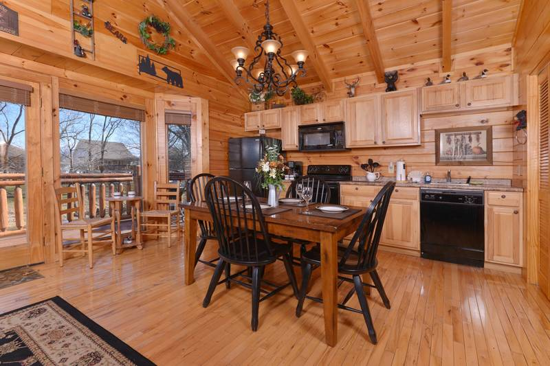 Two Bedroom Pigeon Forge Vacation Cabin Rental
