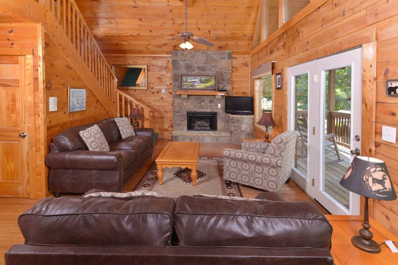 pigeon forge 207 a smoky mountain cabin rental five bedroom cabin