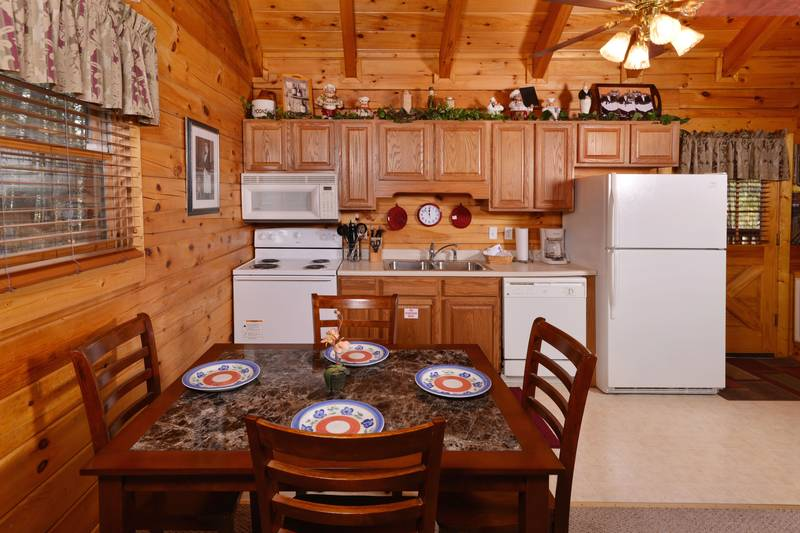 Pigeon Forge One Bedroom Cabin Rental Whirlpool Hot Tub