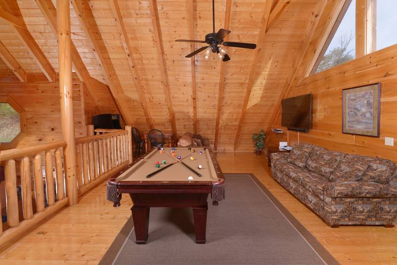 Pigeon Forge Black Bear Resort Two Bedroom Cabin Rental