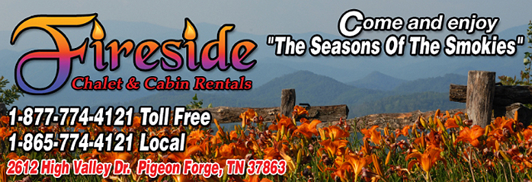 Fireside Chalets And Cabin Rentals In Pigeon Forge Tennessee Offers So Many  Ways To Enjoy The