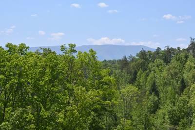 Pigeon Forge Smoky Mountain Panoramic Mountain  Views