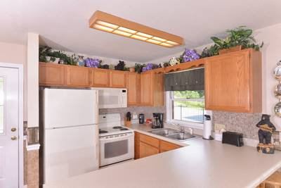 Fully Equipped Kitchen Area in This Pigeon Forge Chalet Rental